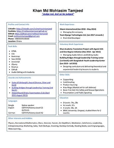 resume for developer jobs getting a developer job freecodecamp