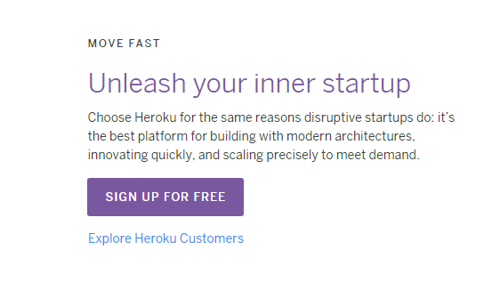 The Free Heroku Account Does Not Require A Credit Card I Just Created An To Confirm That This Has Changed You Only Need Email Address