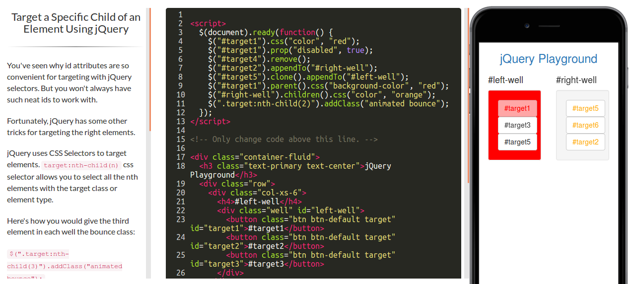 Doubt - Target a Specific Child of an Element Using jQuery