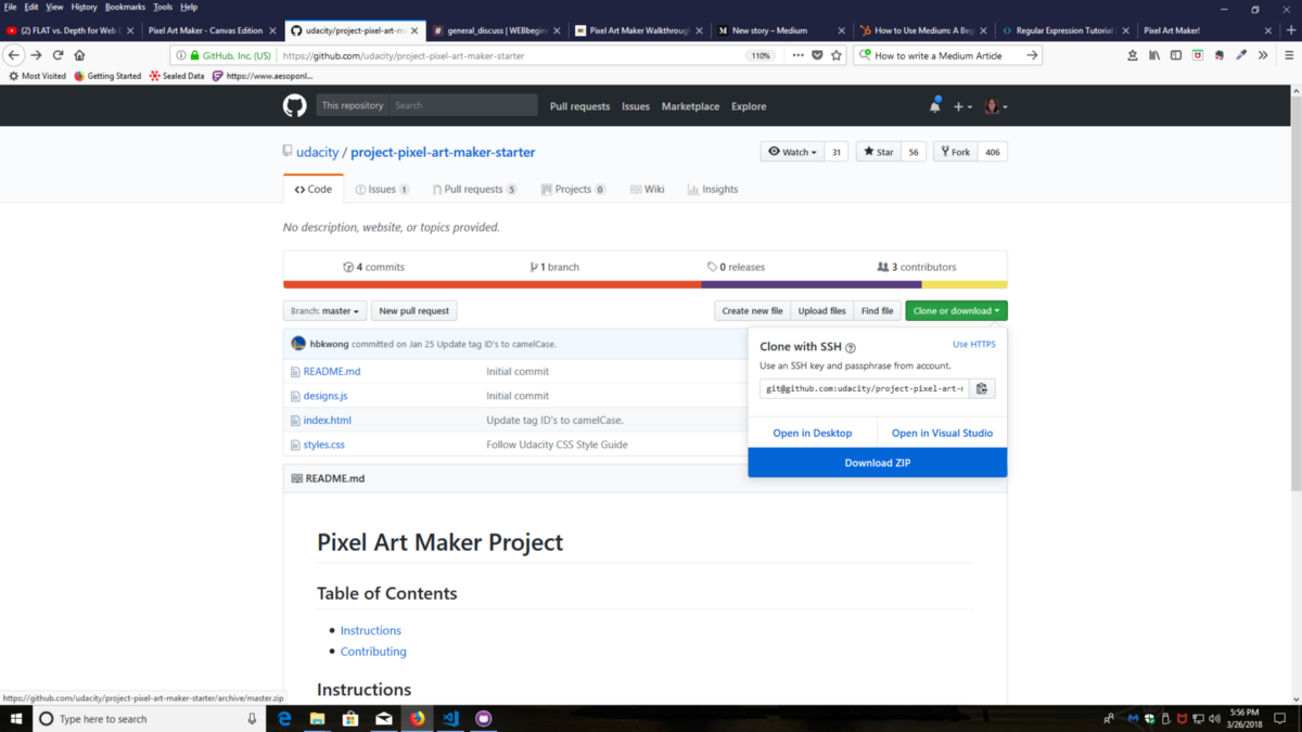 Pixel art maker tutorial the freecodecamp forum pixel art maker an html5 canvas tutorial part 1 setting up the canvas baditri Gallery