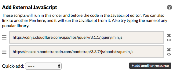 Dumb Question Alert: How do I call jQuery & Bootstrap in Text Editor