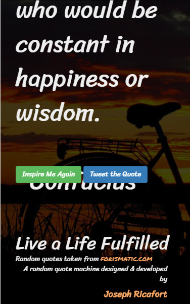 Random Quote Generator Review with Beautiful Background ...