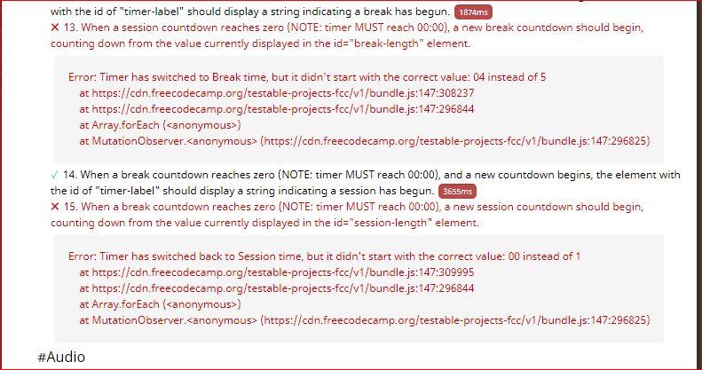 Build a Pomodoro Clock - Feedback Please - Project Feedback