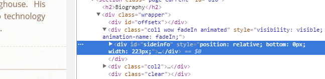 Side by side divs different heights and scrolling the - Div position relative ...
